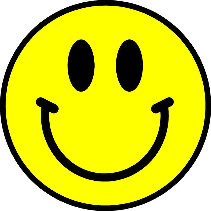 Clipart Happy Face 5