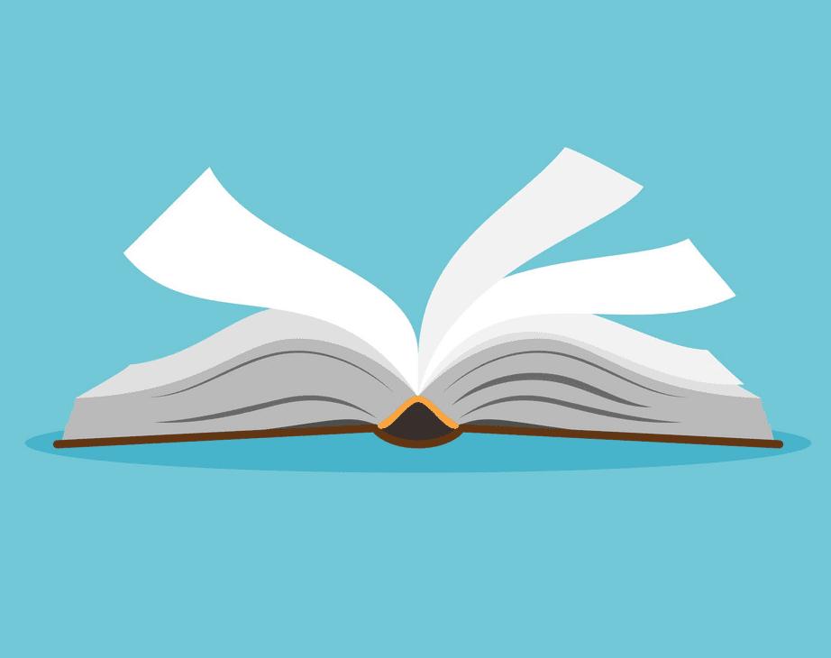 Clipart Open Book 2
