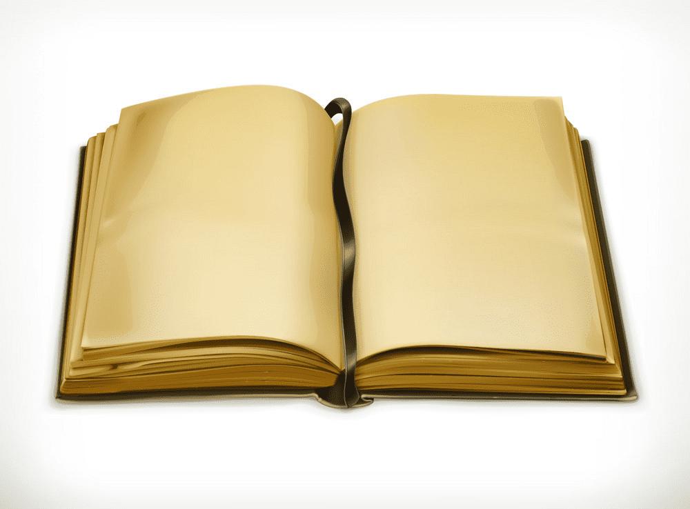 Clipart Open Book 3