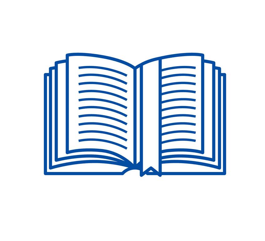 Clipart Open Book 6