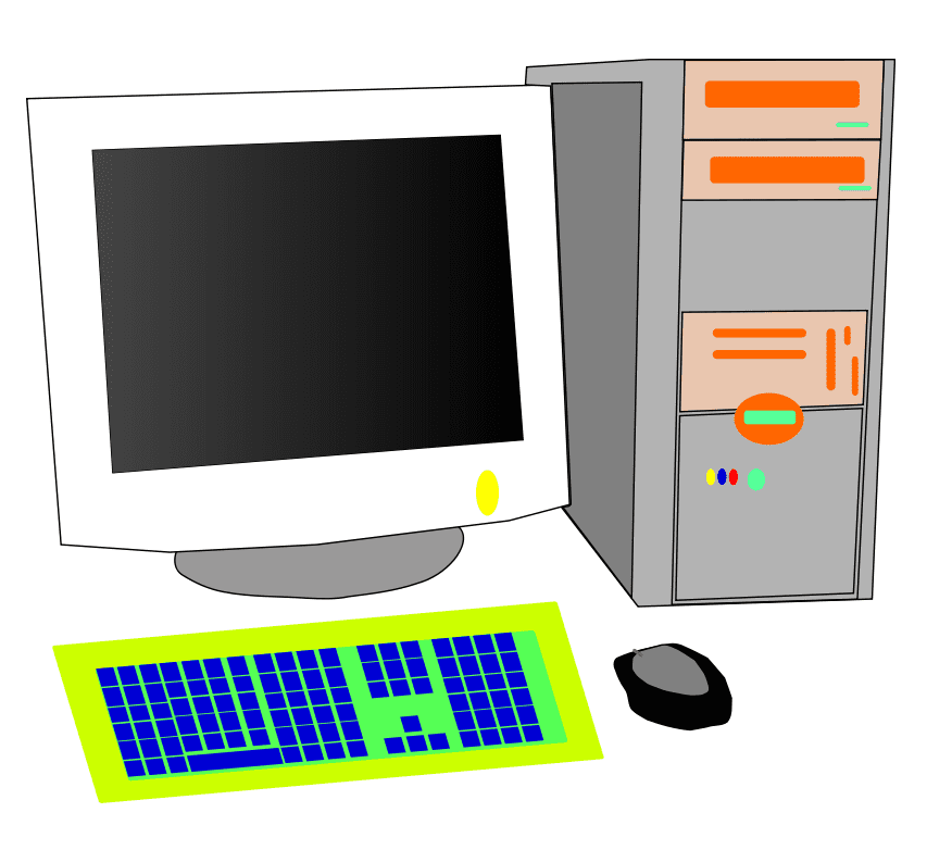 Clipart Personal Computer