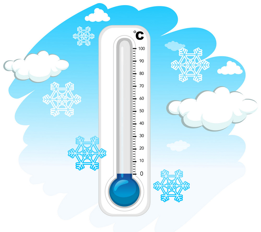 Cold Thermometer clipart 2
