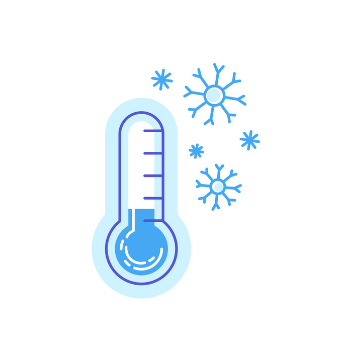 Cold Thermometer clipart 4