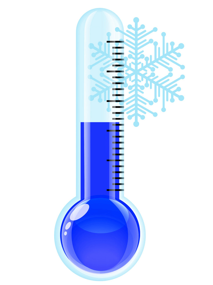 Cold Thermometer clipart 5