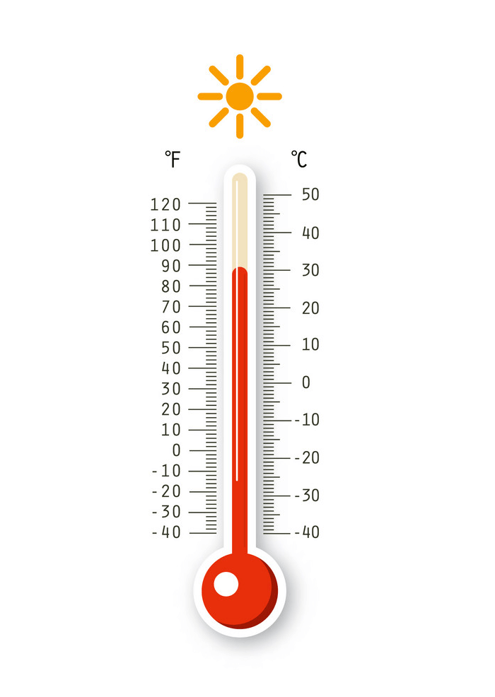 Cold Thermometer clipart 6