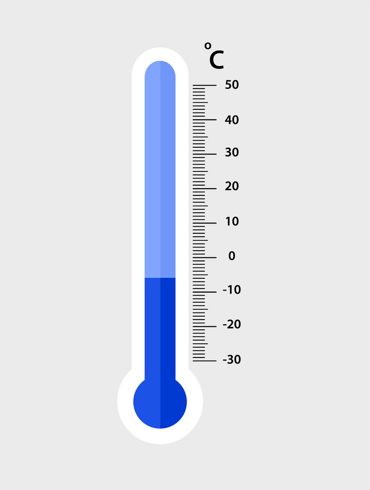 Cold Thermometer clipart free
