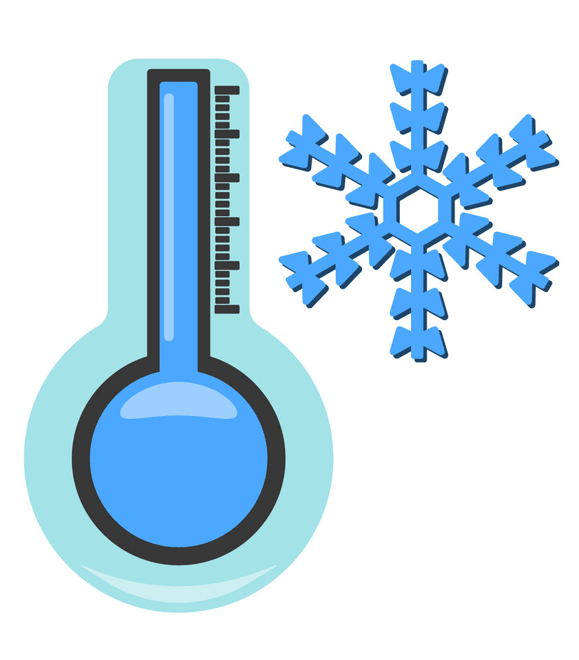 Cold Thermometer clipart png