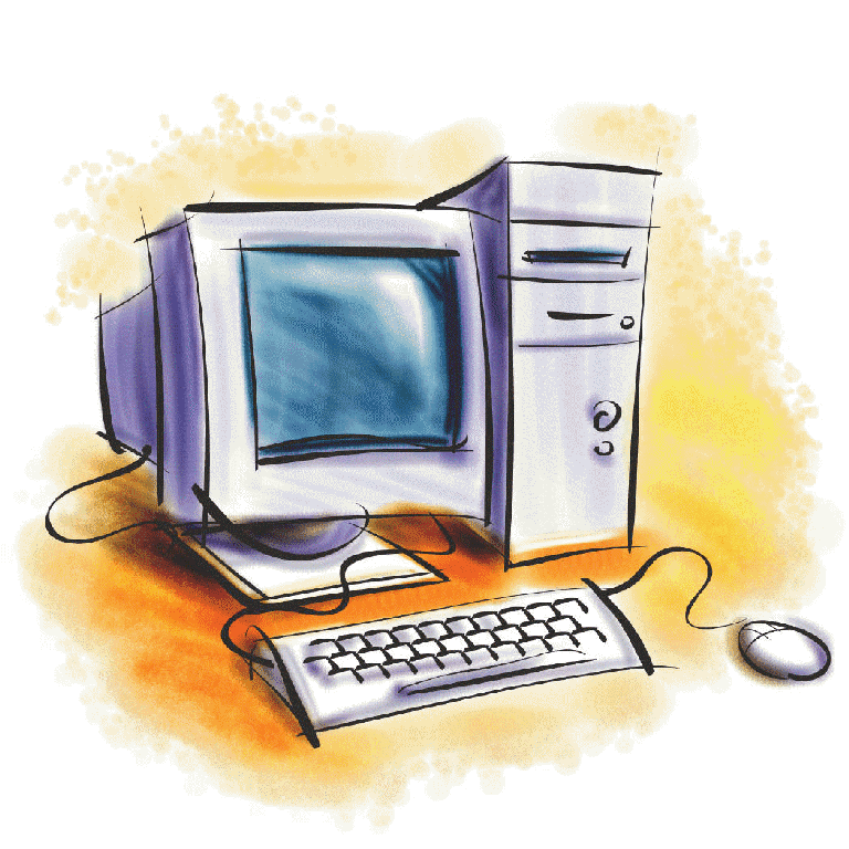 Computer clipart picture