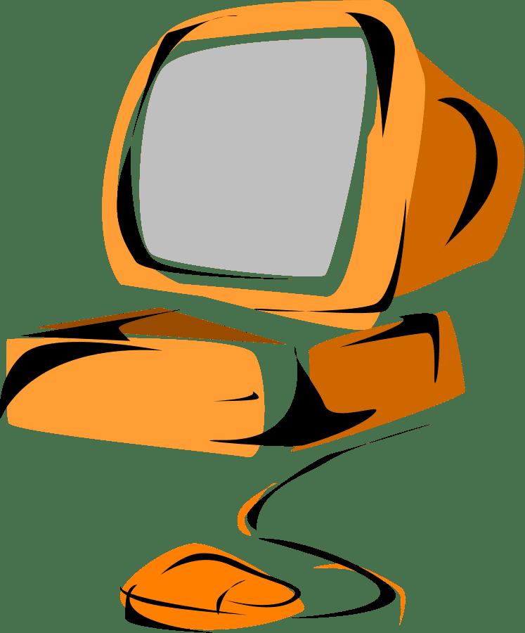 Computer clipart transparent free