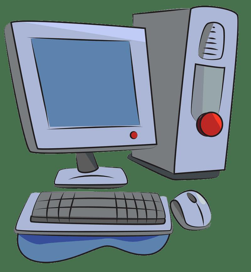 Computer clipart transparent