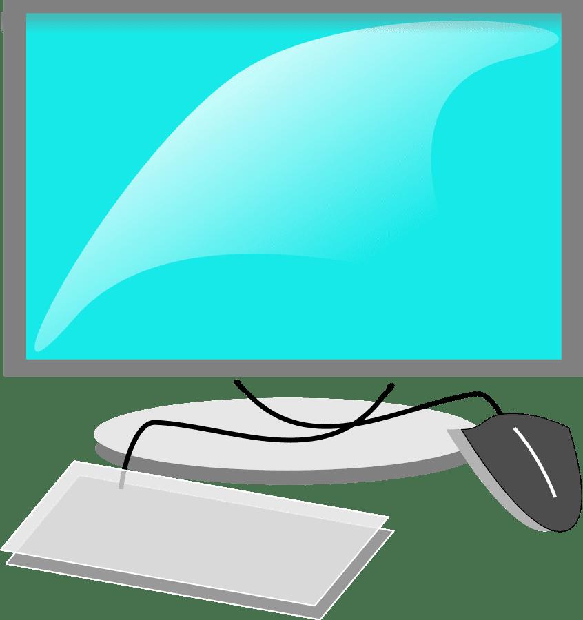 Computer transparent clipart