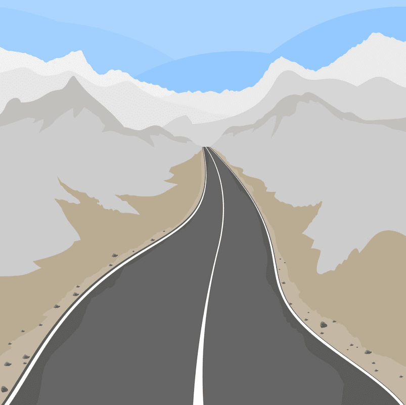 Country Road clipart png