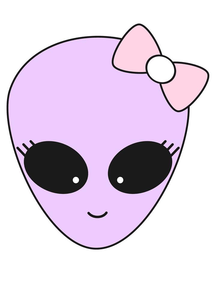 Cute Alien clipart 3