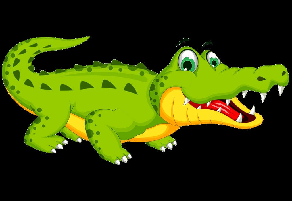 Cute Alligator clipart transparent 2