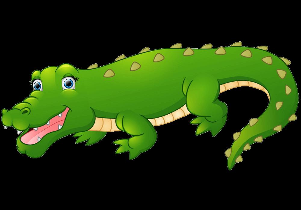 Cute Alligator clipart transparent 4
