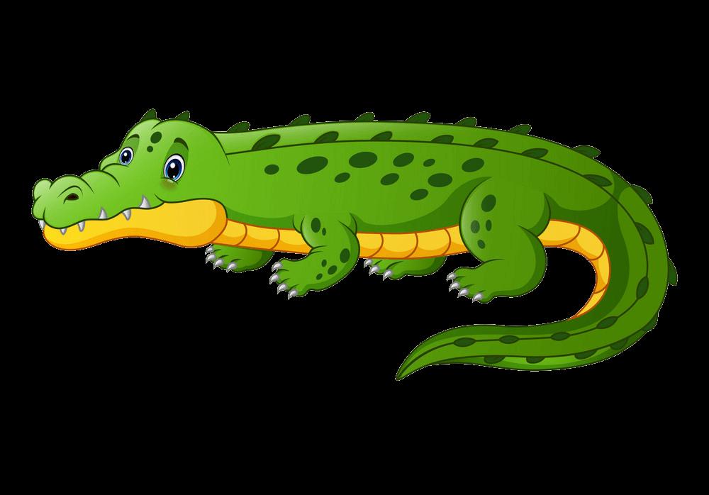 Cute Alligator clipart transparent 5