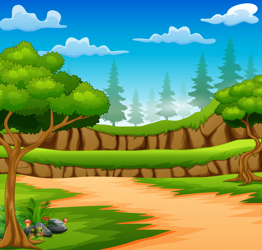 Dirt Road clipart 1
