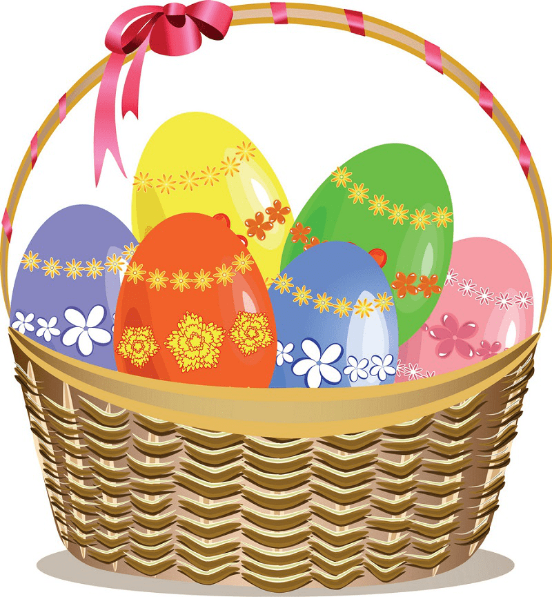 Download Easter Basket clipart png