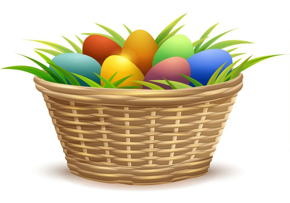 Easter Basket clipart 2