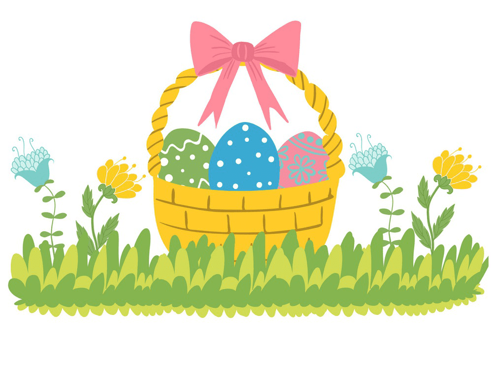 Easter Basket clipart 3