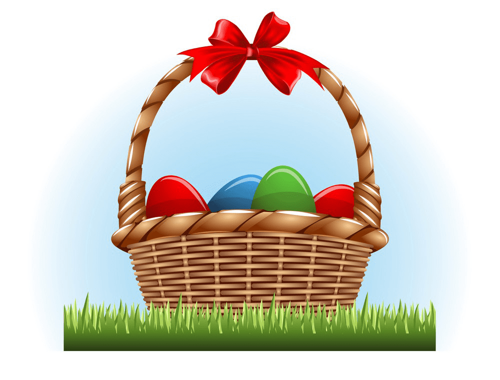 Easter Basket clipart 4