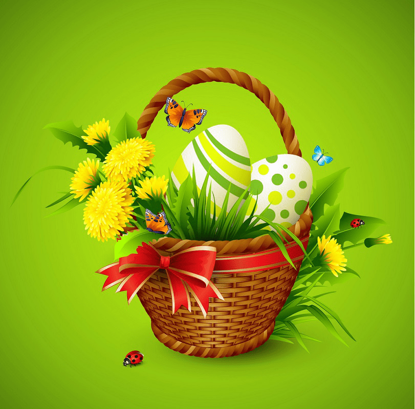 Easter Basket clipart 5