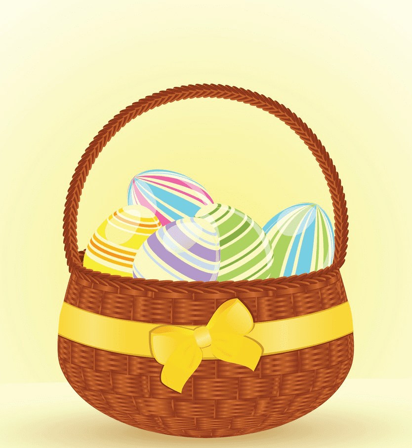 Easter Basket clipart download
