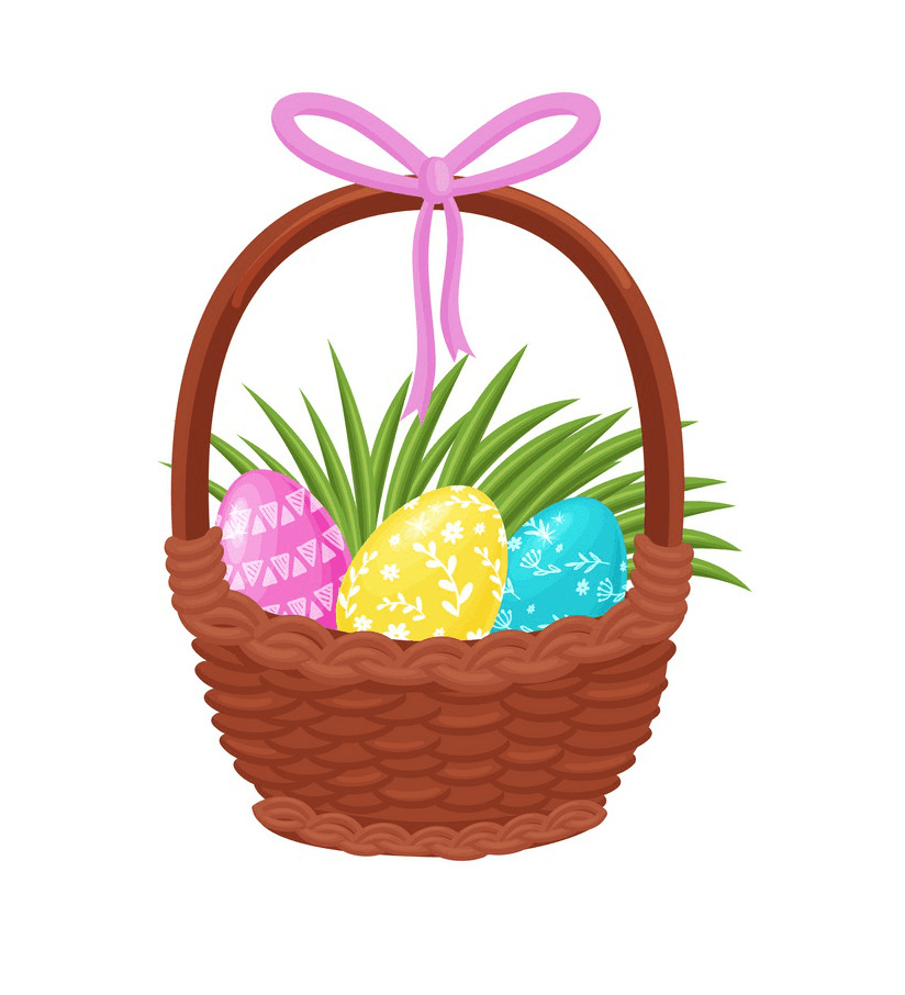 Easter Basket clipart free 3