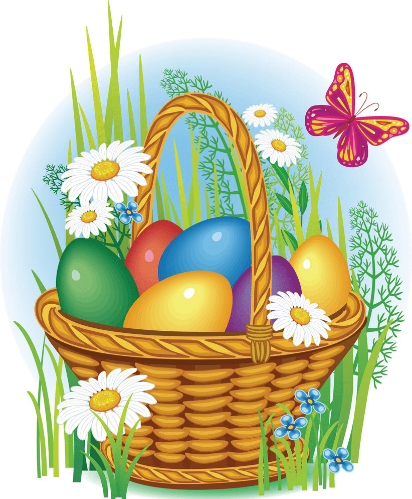 Easter Basket clipart picture