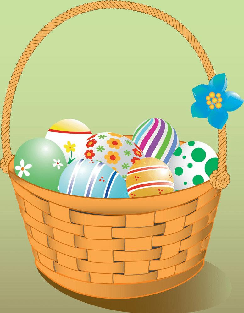 Easter Basket clipart png 1