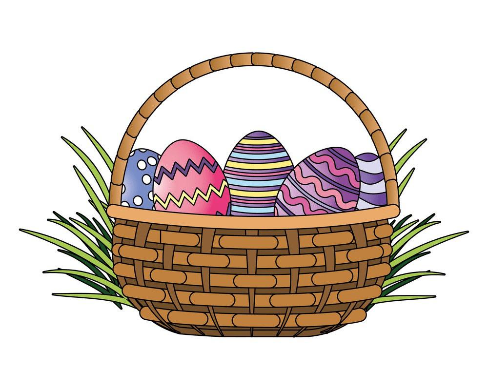 Easter Basket clipart png 2