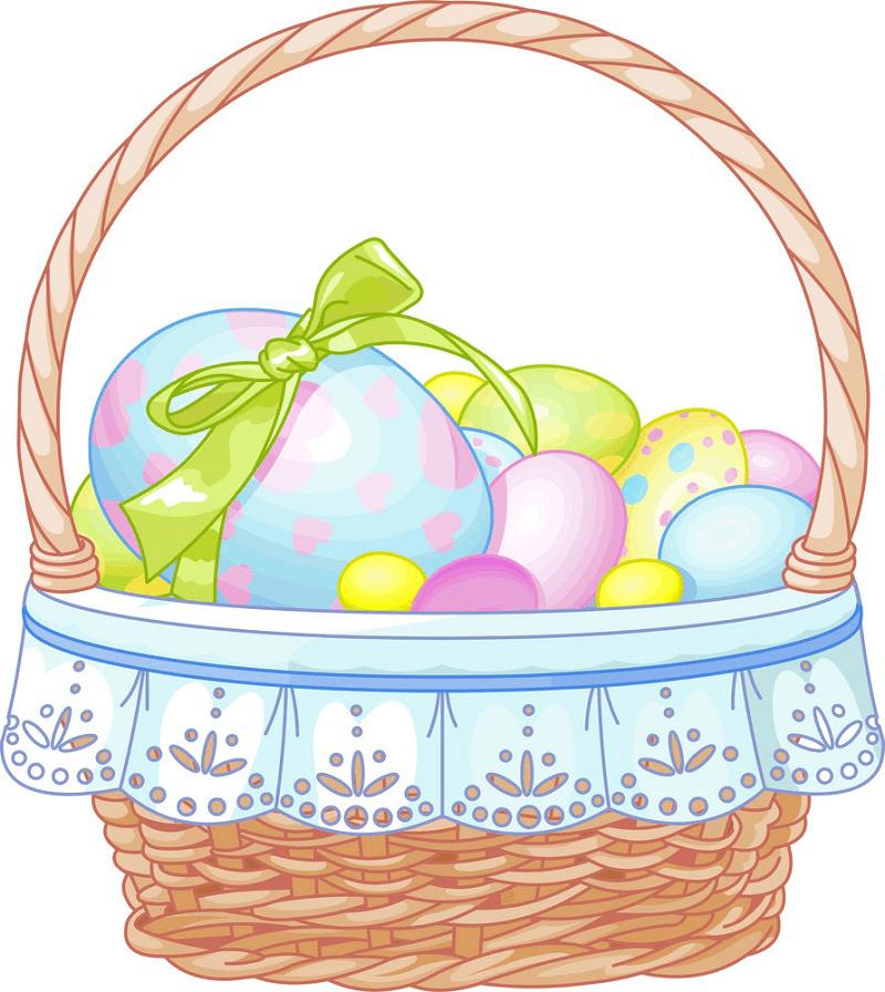 Easter Basket clipart png