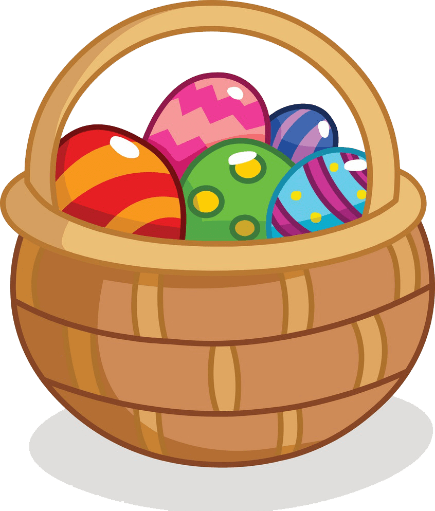 Easter Basket clipart transparent 2