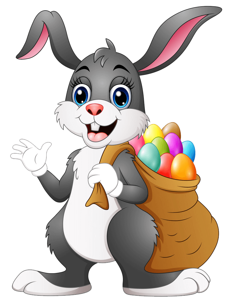 Easter Bunny clipart transparent