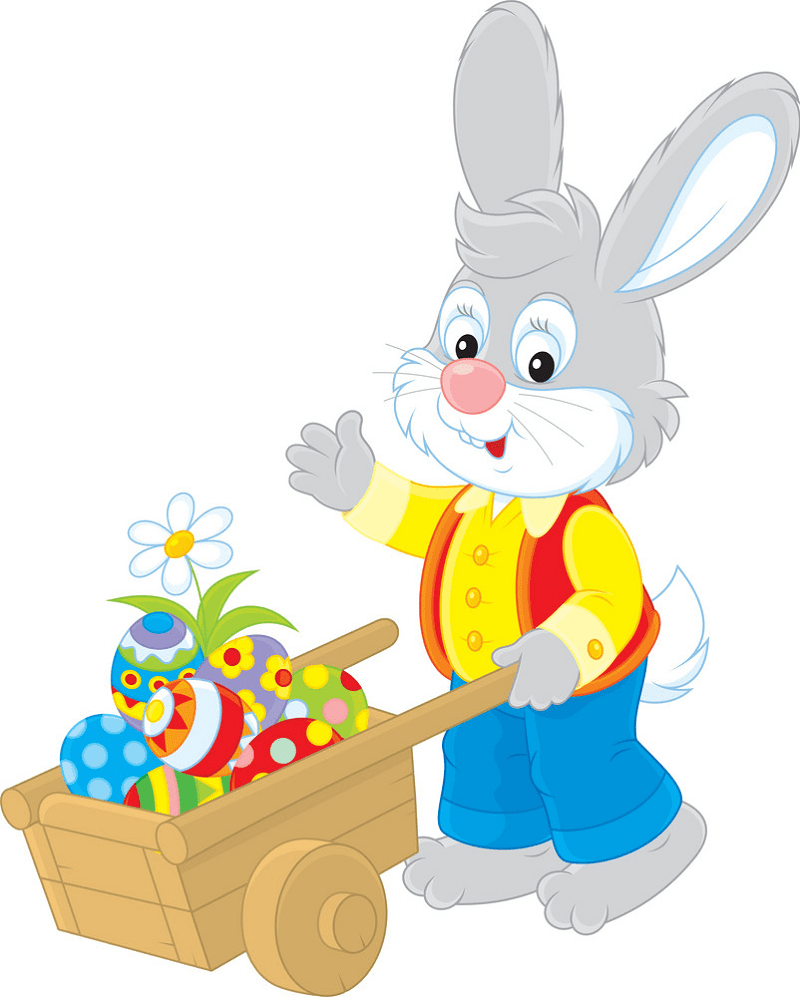 Easter Rabbit clipart 1