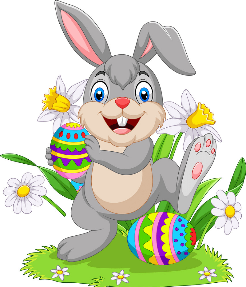 Easter Rabbit clipart free