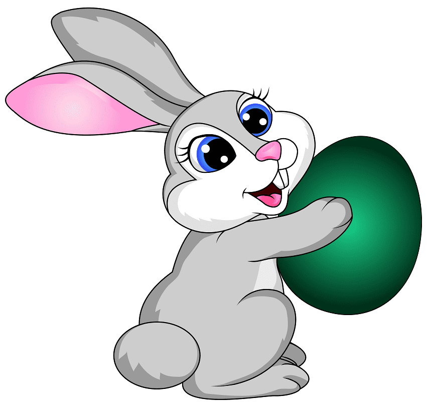 Easter Rabbit clipart picture