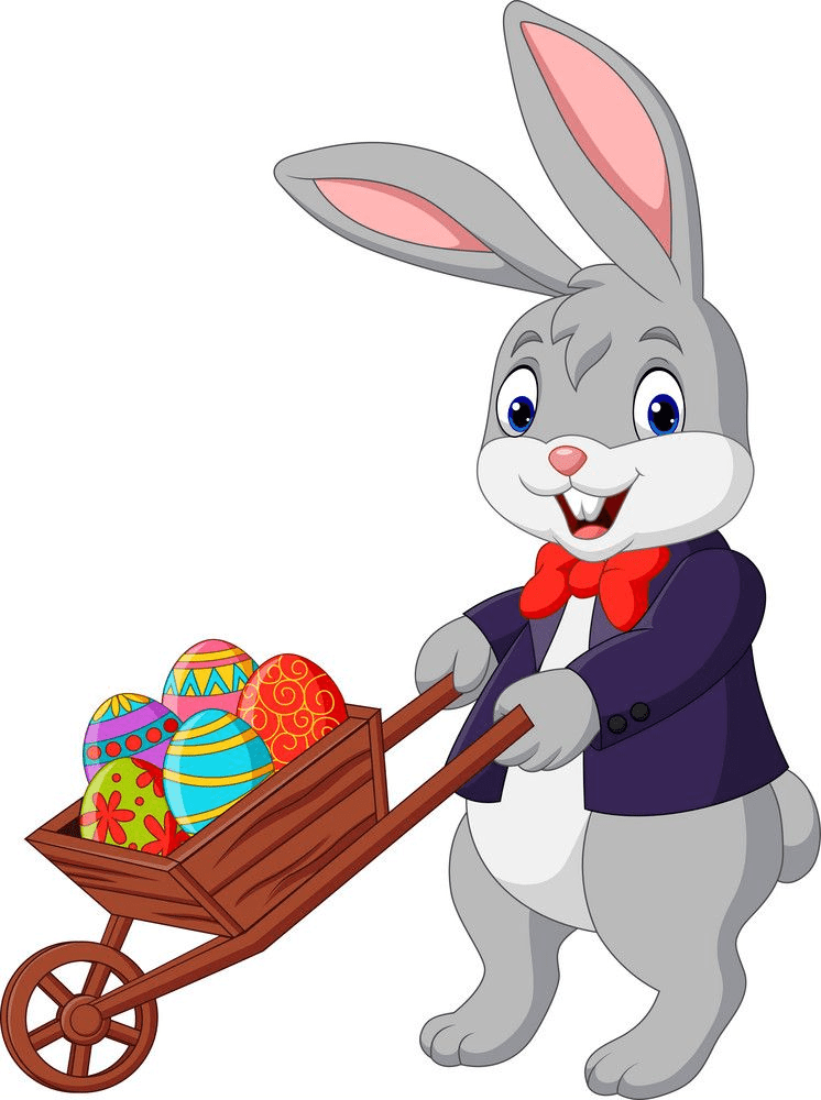 Easter Rabbit clipart png