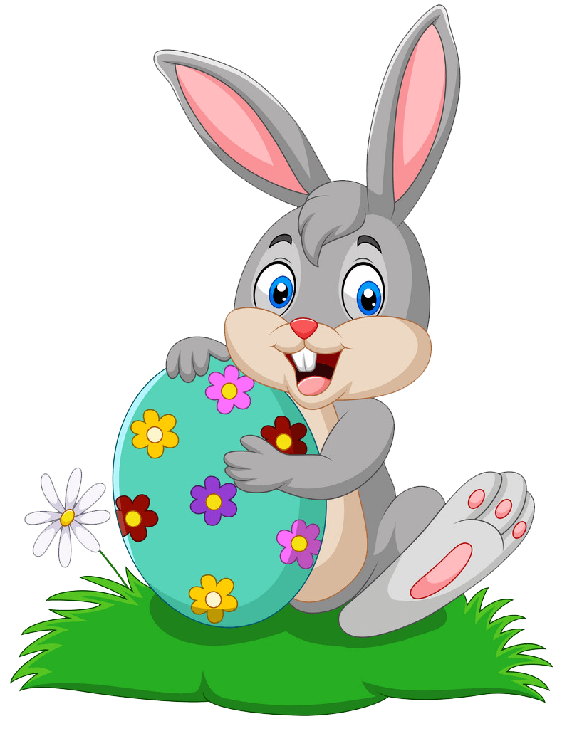 Easter Rabbit clipart transparent 2