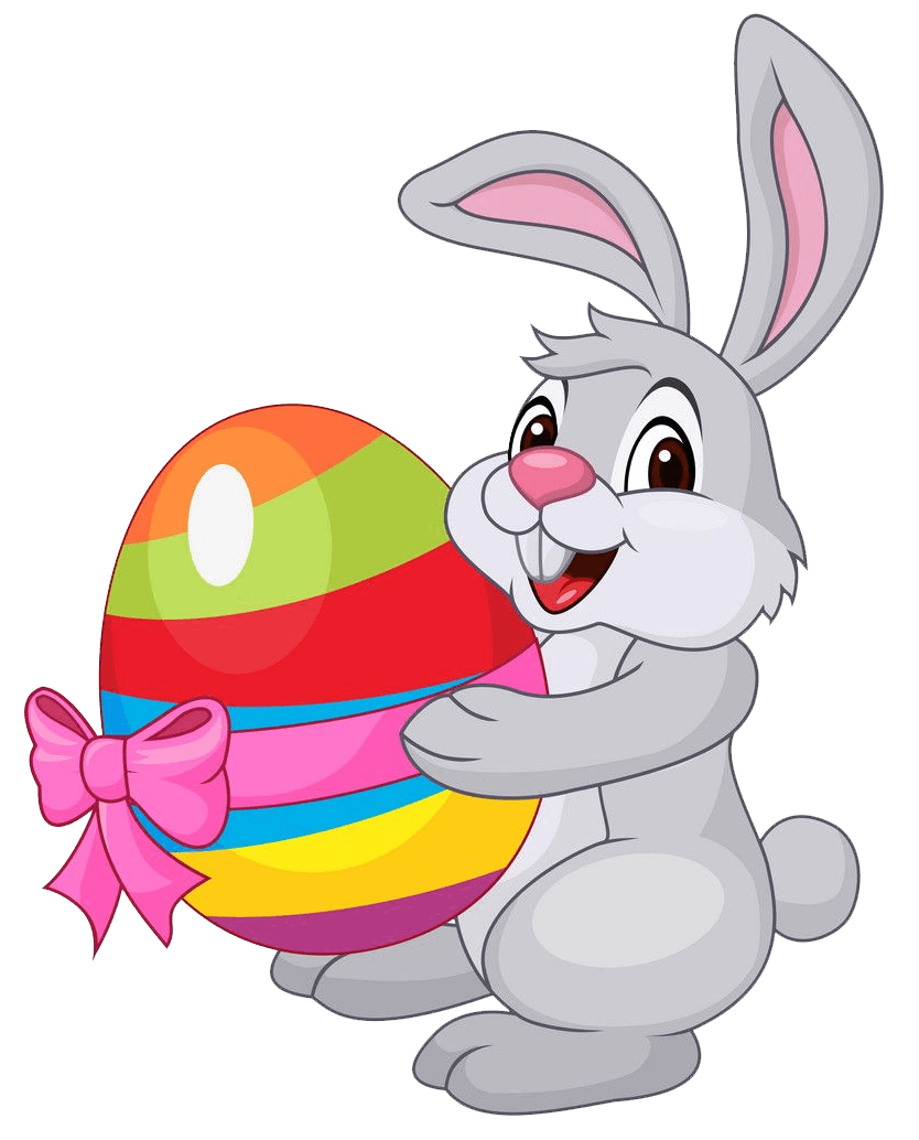 Easter Rabbit clipart transparent 3