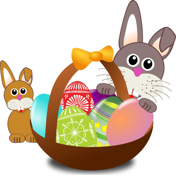 Easter Rabbit clipart transparent 5