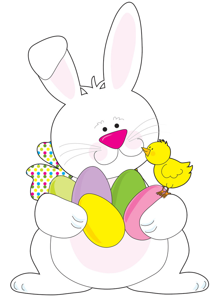 Easter Rabbit clipart transparent