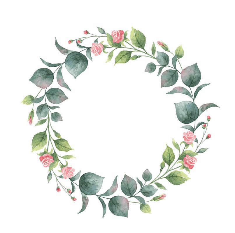 Eucalyptus Wreath clipart 4