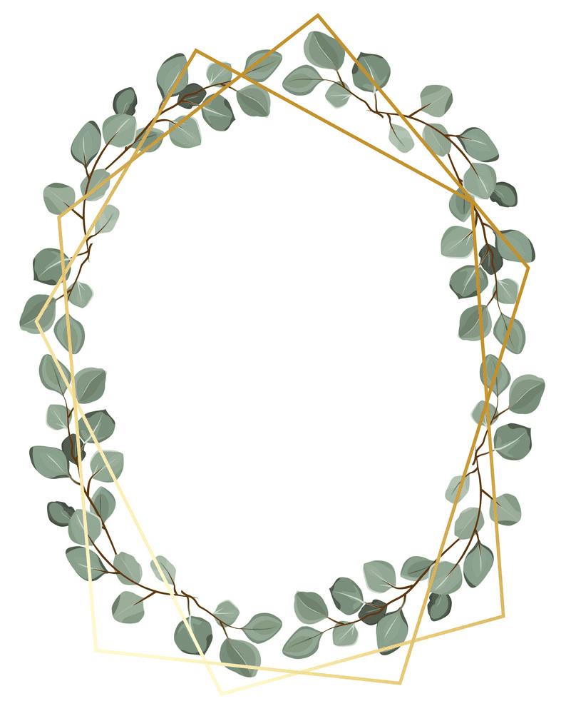 Eucalyptus Wreath clipart 5