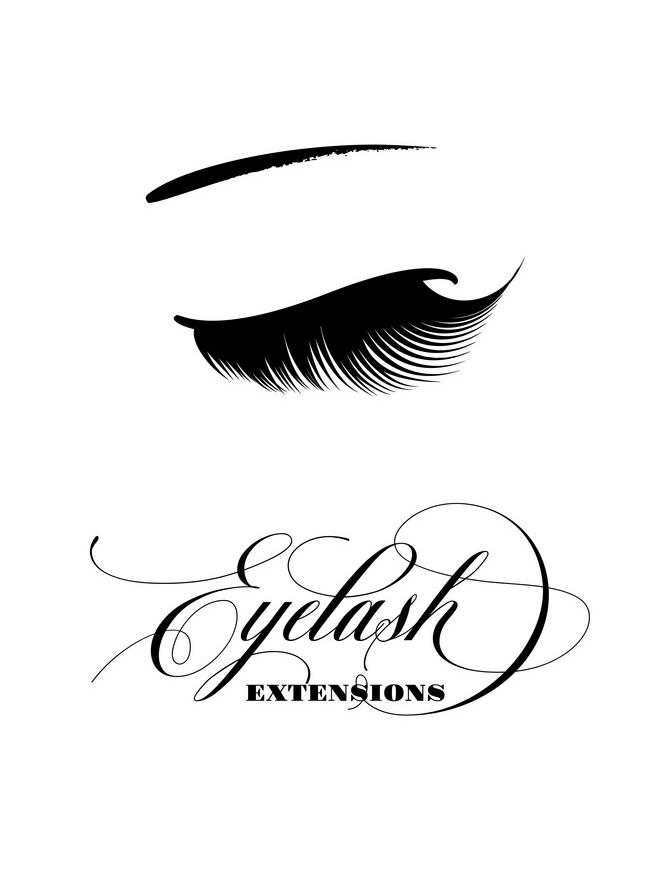 Eyelash Extensions clipart 2
