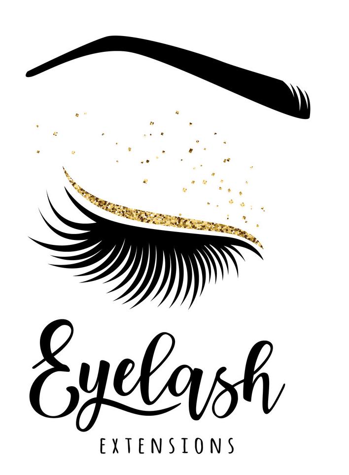 Eyelash Extensions clipart