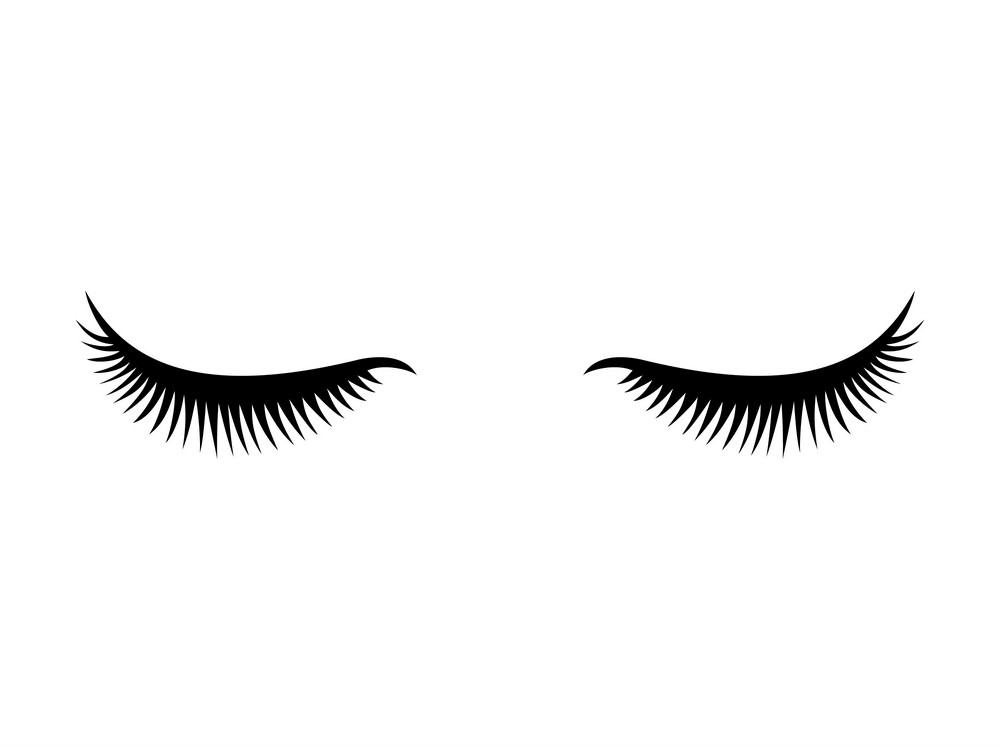 Eyelash clipart 1