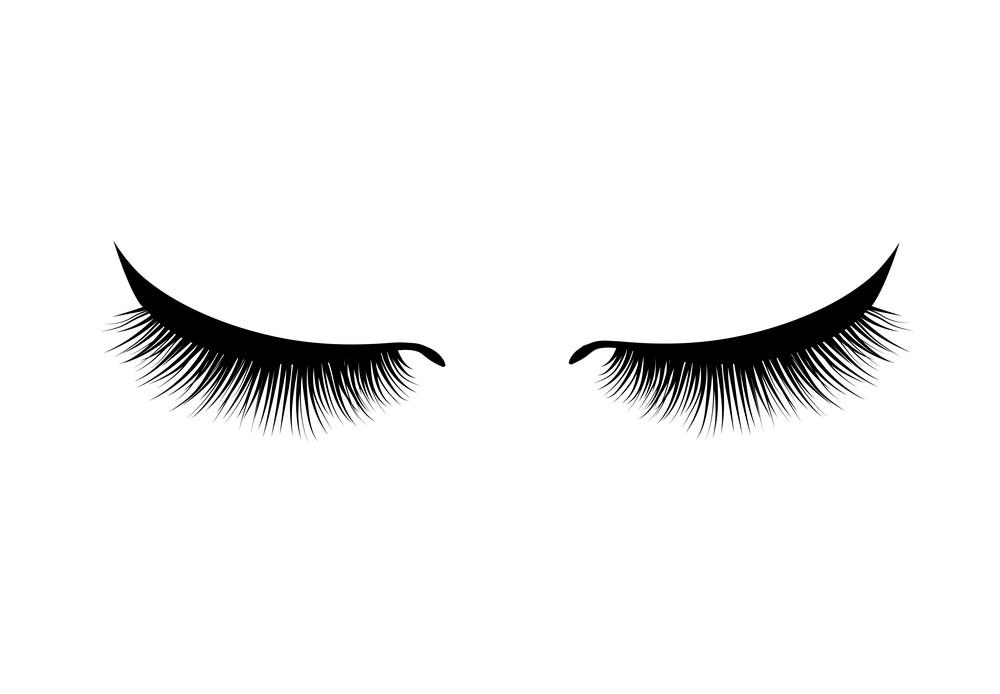 Eyelash clipart 2