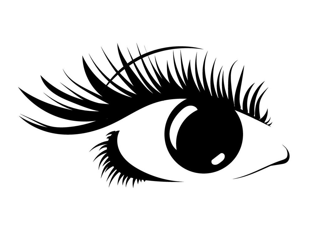 Eyelash clipart 3