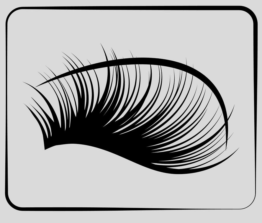 Eyelash clipart 6